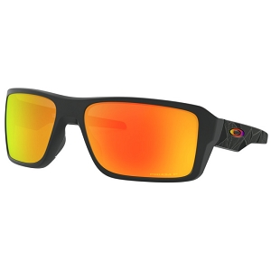 Oakley Double Edge Matte Black Prizmatic / Prizm Ruby Polarized