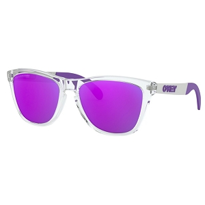 Oakley Frogskins Mix Polished Clear / Violet Iridium Polarized