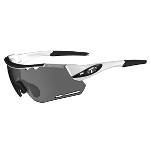 Tifosi Alliant White/Black / Smoke, AC Red and Clear