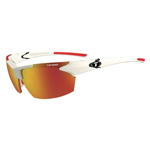 Tifosi Jet Matte White / Smoke Red