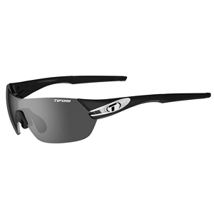 Tifosi Slice Black and White / Smoke, AC Red, Clear
