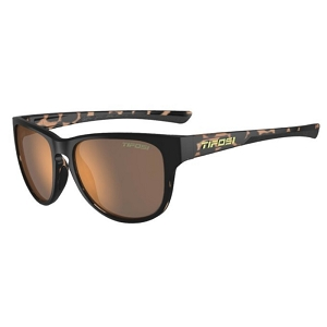 Tifosi Smoove Satin Black Java Fade / Brown Polarized