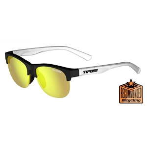 Tifosi Swank SL Satin Black/Clear / Smoke Yellow