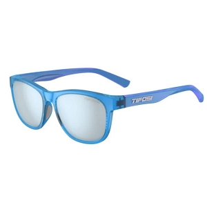 Tifosi Swank Crystal Sky Blue / Smoke Bright Blue