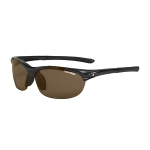 Tifosi Wisp Gloss Black / Brown Polarized