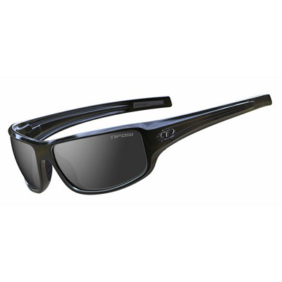Tifosi Bronx Gloss Black / Smoke